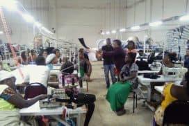 Staff durbar held at Key textiles by Global Plus Ghana Ltd