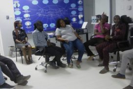 Workshop training at True Manufacturing and Trading company by Global Plus Ghana Ltd