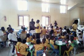 Independence Engagement activity organized for parents and students of Sunbeam Montessori by Global Plus Ghana Ltd
